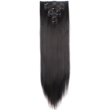 Buy Brunette Clip-In hair extensions